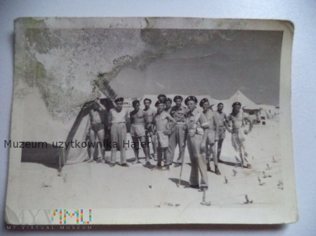 Zdjęcie żołnierzy PSZ na Zachodzie