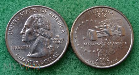 Duże zdjęcie 25 CENTS Indiana 2002