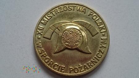 Duże zdjęcie Medal XII Mistrzostw Polski w Sporcie Pożarniczym