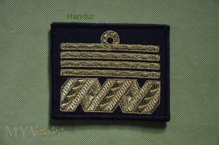 Duże zdjęcie Oznaka stopnia MW - admirał