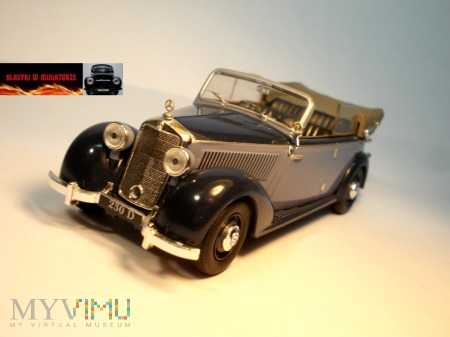 MERCEDES 230 CABRIOLET D (W143) – 1939