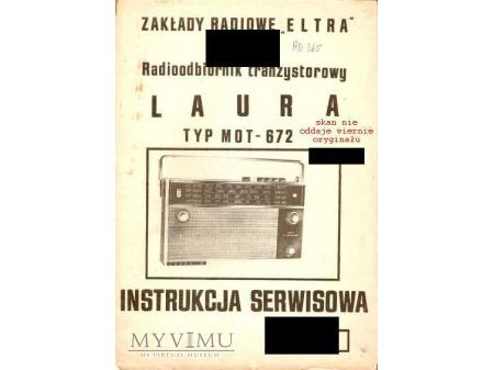 Instrukcja radia LAURA
