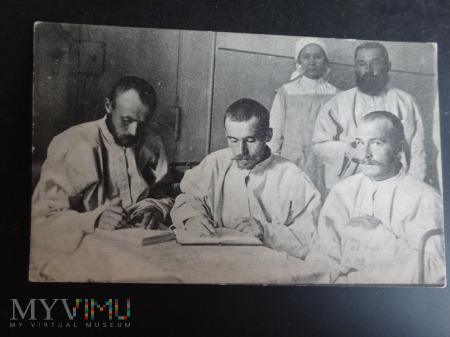 Duże zdjęcie Listy rannych do rodziny