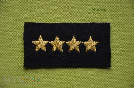 Gwiazdki na czapkę garnizonową MO SG