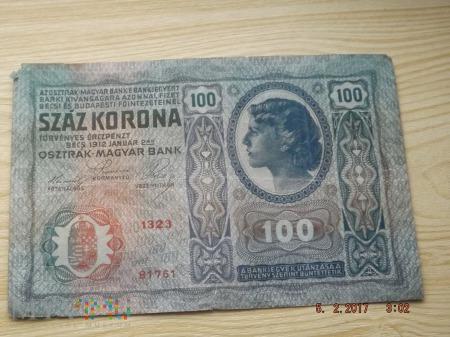 Austria 100 koron 1912