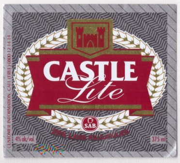South Africa, castle lite