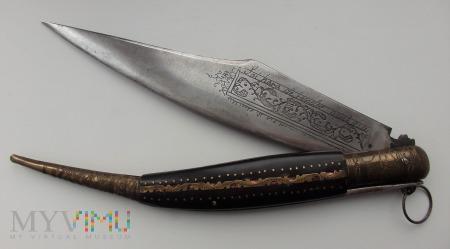 Hiszpański nóż składany Navaja