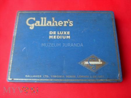 Duże zdjęcie Opakowanie papierosów Gallahers De Luxe Medium