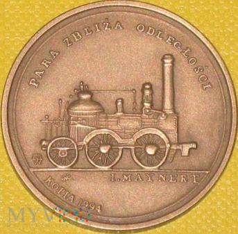 Reprint medalu - Otwarcie pierwszego odcinka DŻWW