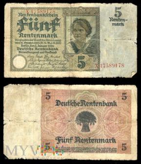 Niemcy, 5 marek 1926