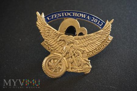 Odznaka Zlot Gwiazdzisty - Częstochowa 2012