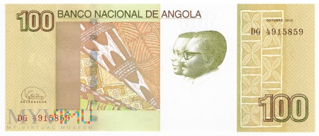 Angola - 100 kwanza (2017)