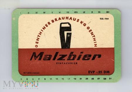 Genthin, Malzbier