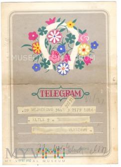 Duże zdjęcie Telegram - lata 60-te XX wieku