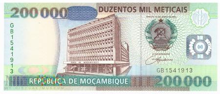Mozambik - 200 000 meticali (2003)