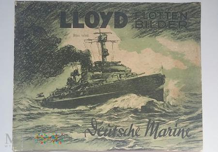 Album Lloyd niemiecka flota morska