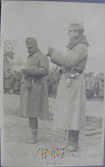 Duże zdjęcie Zdjęcie żołnierzy austro-węgierskich