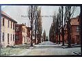 OŚWIĘCIM Auschwitz Fragment ulicy obozowej
