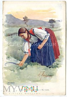 Gardavska - Na trawie - pocz. XX wieku