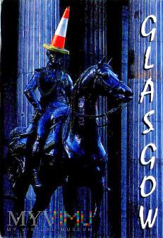 Magnes z pomnikiem: Duke Wellington w Glasgow