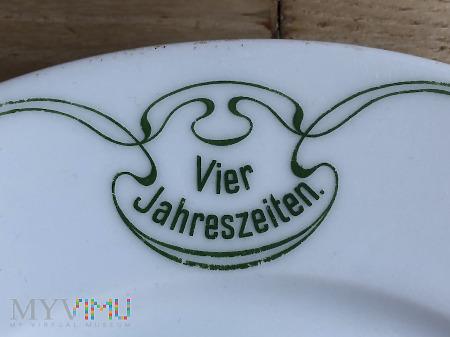 Duże zdjęcie Talerz hotel Vier Jahreszeiten, Breslau