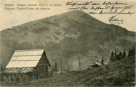Gorgany - Chomiak 1544 m