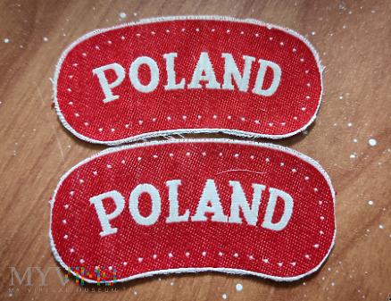Oznaki naramienne Poland PSZnZ