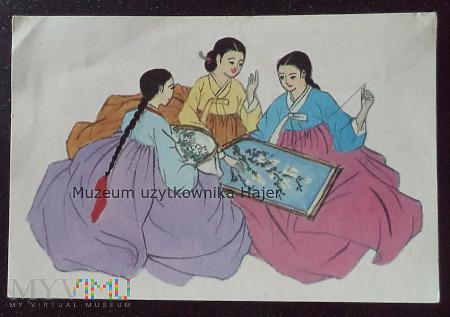Korea - kartka pocztowa