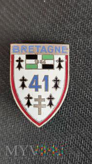 Duże zdjęcie Odznaka 41 Pułku Piechoty Armii Francuskiej