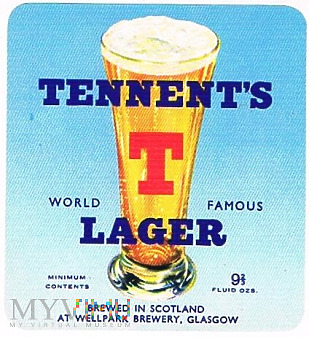 tennent's t lager