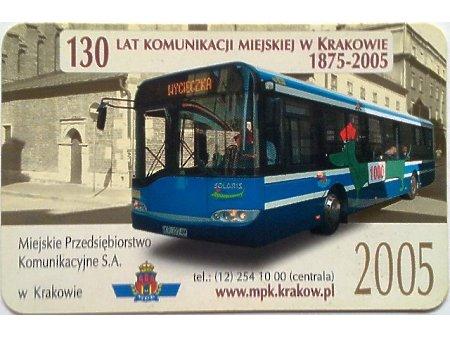 Bilet MPK Kraków 85