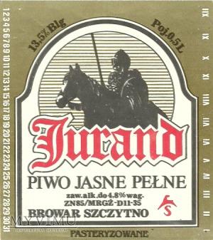Browar Szczytno Piwo jasne pełne Jurand