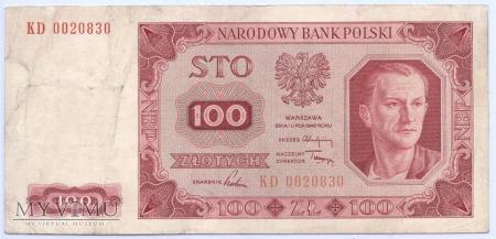 100 złotych - 1948.