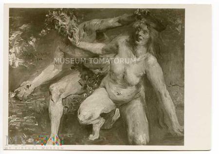 Lovis Corinth - Faun i Nimfa