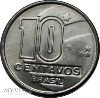 10 Centavos, 1990 rok.