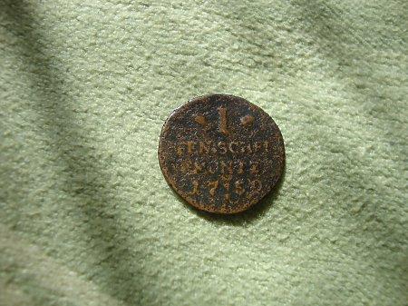 Duże zdjęcie moneta XVlll w.