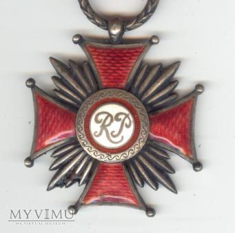 KRZYŻ ZASŁUGI SREBRNY 1923-1938