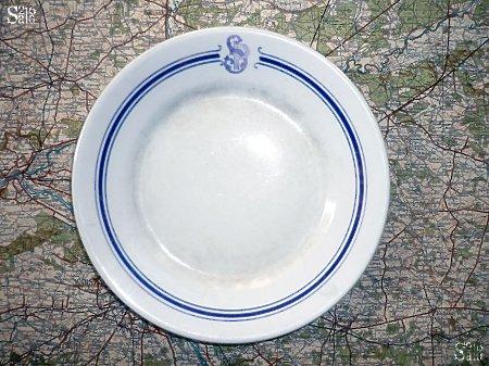 Talerzyk deserowy ze stołówki SPP w Komorowie