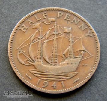 Half Penny 1941