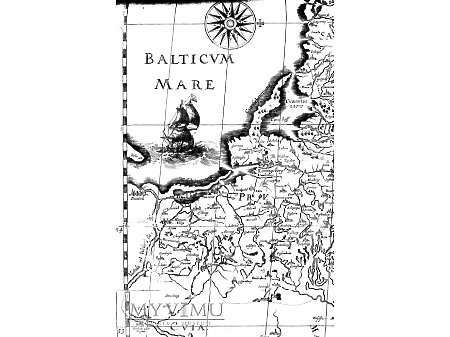 Gdańsk i Elbląg Warmia, Prusy XVII w