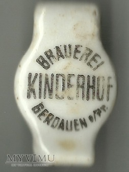 Gerdauen (Gierdawa) - Brauerei Kinderhof