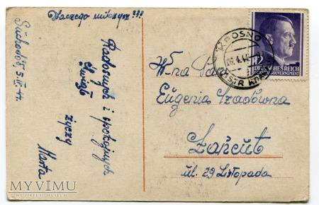 1944 Wielkanoc Okupacja Generalne Gubernatorstwo