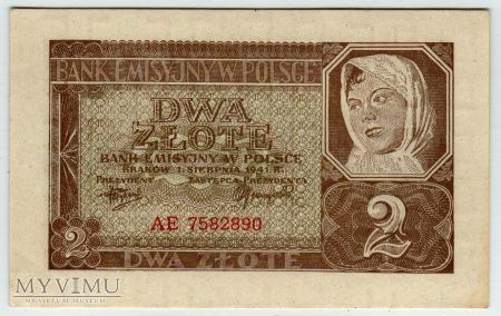 01.08.1941 - 2 Złote
