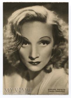 Marlene Dietrich Pocztówka Rizzoli Milano postcard