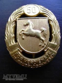 złota odznaka niemiecka