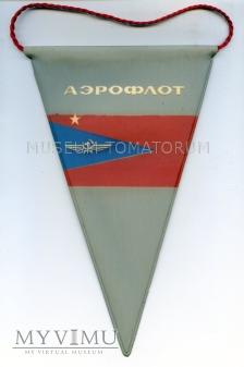 Duże zdjęcie Proporczyk Aerofłotu - lata 60/70