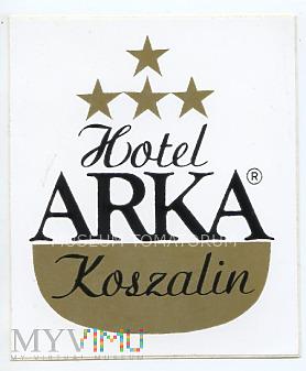Nalepka hotelowa - Koszalin - Hotel Arka