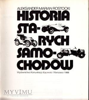 Duże zdjęcie HISTORIA SAMOCHODÓW