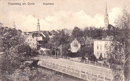 Pocztówka Friedeberg am Queis (Mirsk)
