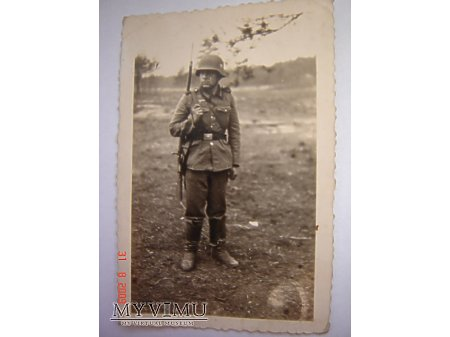 Duże zdjęcie Niemiecki żołnierz
